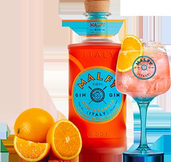 Malfy Gin Con Arancia served