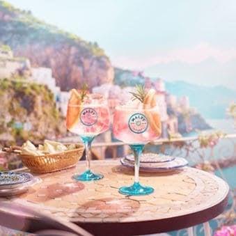 Gin rosa & tonic